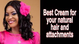 DIY 2: ORGANIC HAIR CREAM,From Aloe vera, lanolin and Shae butter,Hair conditioner.