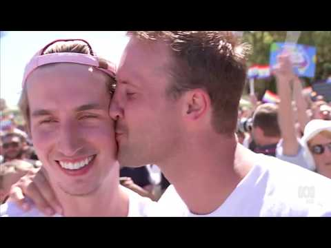 ABC 7.30: Australians vote for same-sex marriage | 15 Nov 2017