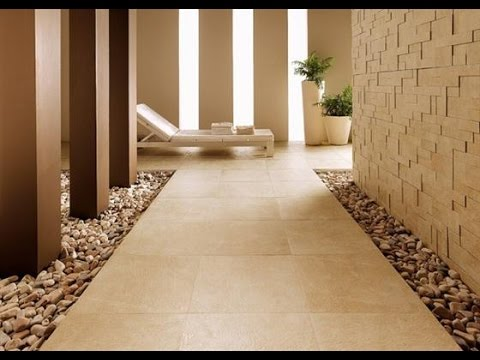 Contemporary and Unique Ceramic Floor and Wall Tiles Decorating Ideas