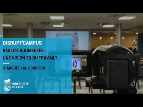 Conférence - Réalité augmentée, une vision 3D du travail ?