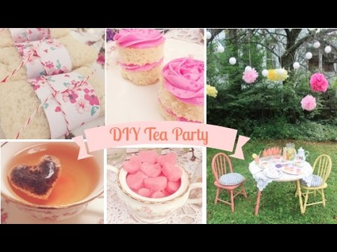 DIY Tea Party With EmelyneYouTube