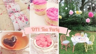 Diy Tea Party With Emelyne