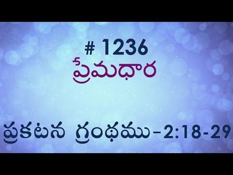 Numbers సంఖ్యాకాండము 3 & 4 (#0219) Telugu Bible