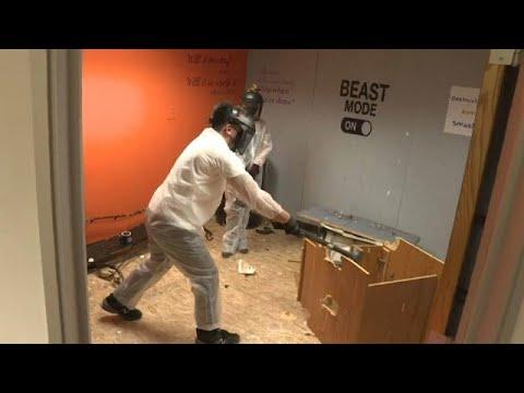 شاهد: في كاليفورنيا -غرف الغضب-.. الحل الأنسب أمام المتضررين نفسيا من فيروس كورونا …  - 08:58-2021 / 3 / 5