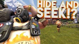 OVERWATCH HIDE AND SEEK CUSTOM GAMEMODE!? thumbnail