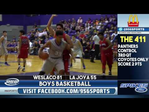 Weslaco La Joya 81-55 (Boys Basketball)
