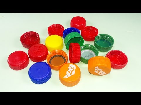 Cool idea with plastic bottles caps | DIY arts and crafts | Best craft idea | you should know
