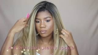 Mane Concept Red Carpet Soft Swiss Lace Wig 4X4 RCP4404 BIANCA