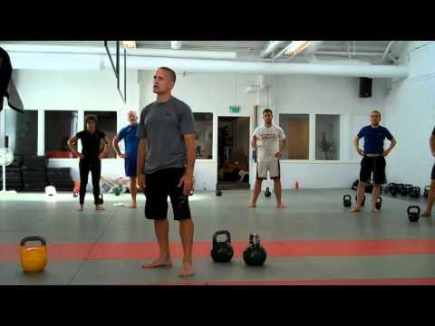 Steve Maxwell: Double Kettlebell Snatch w/ Karl Kristian Indreeide