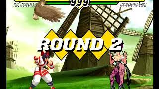 Capcom VS SNK 2 (Dreamcast) Arcade as Nakoruru