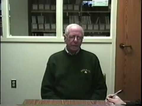 Interview with George England, WWII veteran.  CCSU Veterans History Project