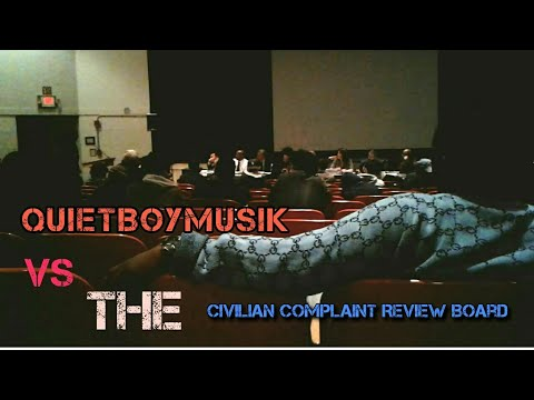 QuietBoyMusik Attends C.C.R.B. Meeting - NYPD Quotas Stop And Frisk Street Gangs Police Corruption