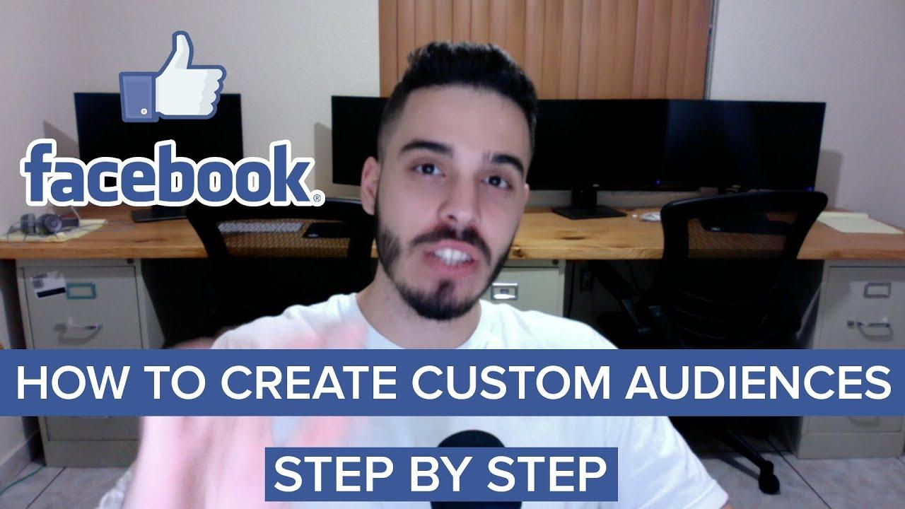 Facebook Advertising & How To Create Effective Facebook Custom Audiences. Step By Step Power Edi