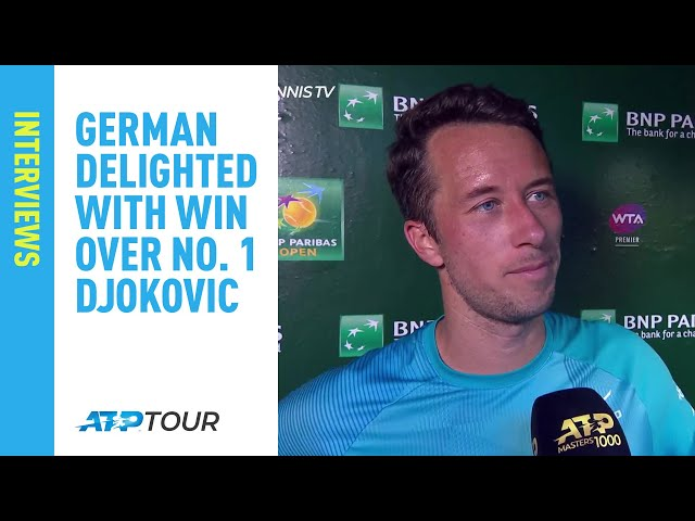 Kohlschreiber Reveals Strategy He Used To Beat Djokovic In Indian Wells 2019