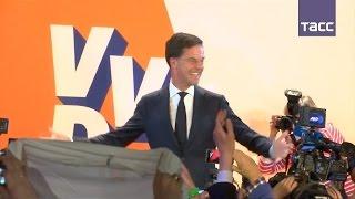 Партия Марка Рютте победила на выборах в Нидерландах