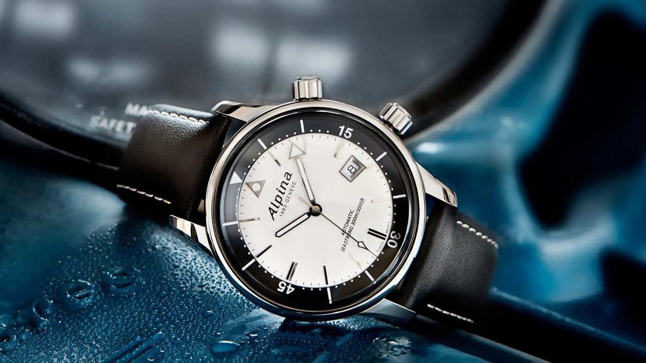 CEO Of Alpina Guido Benedini Discusses The Year Of The Dive Watch - Alpina diver watch