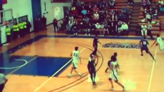 Otis Devine OLLU Regular Season Basketball Highlights 2014-