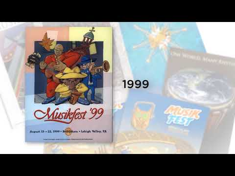 35 Years of Musikfest Posters