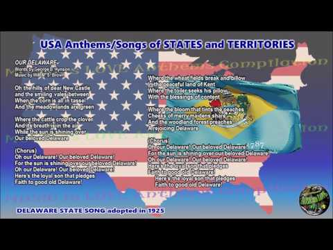 Delaware State Song OUR DELAWARE version by Rick Pickren with lyrics