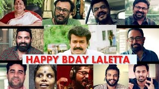 Happy Birthday Laletta- Mohanlal Bday Song- LIJO JOHNSON, VAIKOM VIJAYALEKSHMI