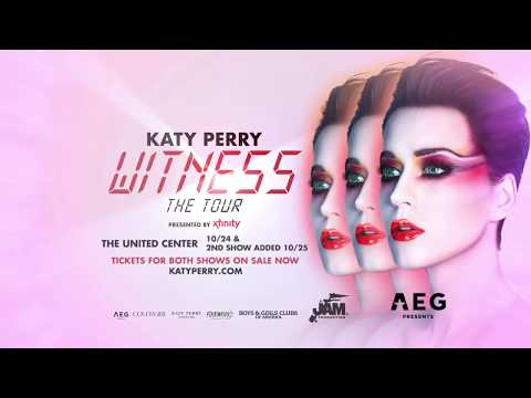 Katy Perry / October 24 & 25, 2017 / United Center, Chicago