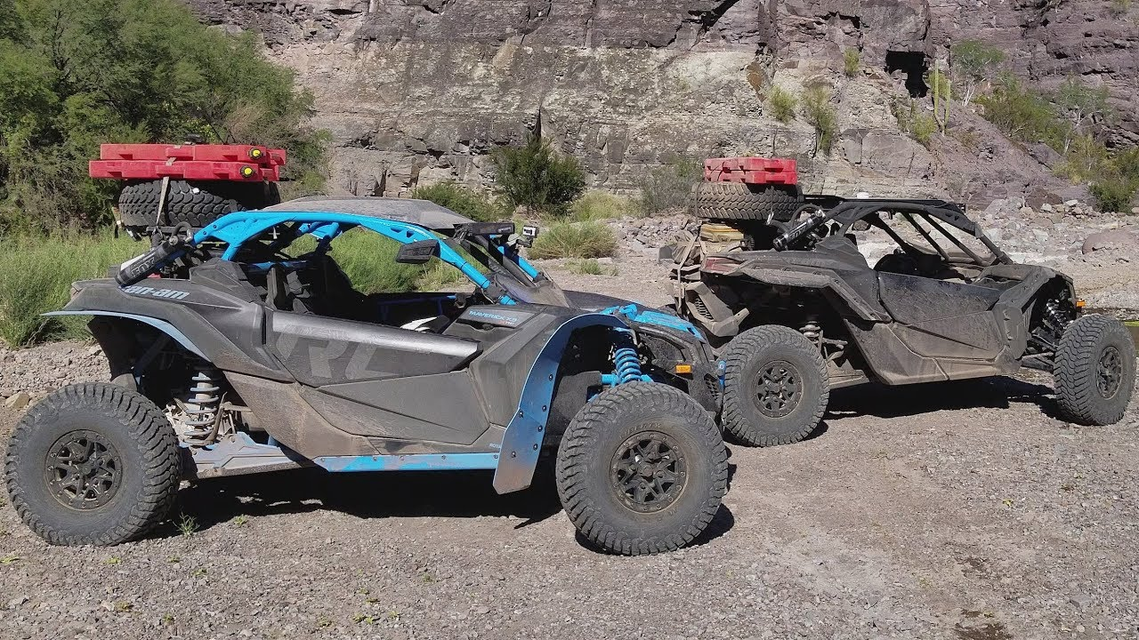 2017 Can Am 1000 >> 2018 CAN AM MAVERICK X3 XRC BAJA 1000 PRERUNNING DAY 2 THE ...