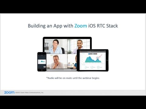 Building an App with Zoom iOS RTC Stack