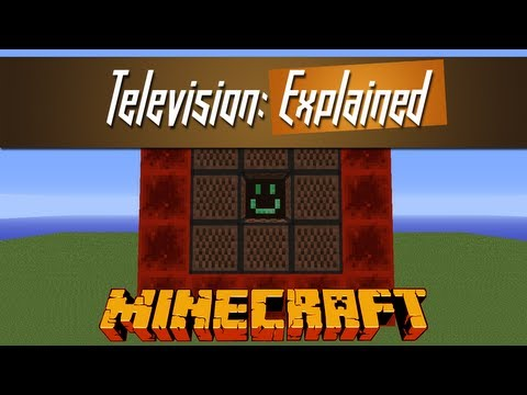 Minecraft - Micro TV Screen Explained