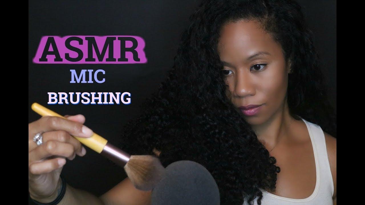 Asmr No Talking asmr   mic brushing   1 hour   no talking