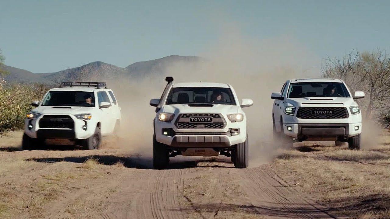 2019 Toyota Trd Pro Lineup 4runner Tacoma Tundra Youtube