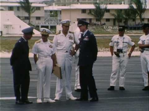 President Nixon's Visit To Johnston Atoll (1969) Silent