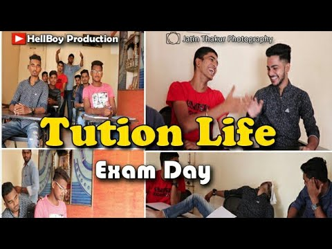Tution Life - Exam Day | School Days | Bunty Patil | Jatin thakur | Pratik Khadekar | Hellboy