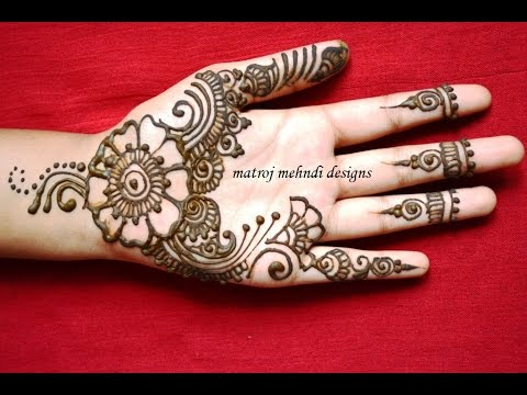 Easy Cute Mehndi Henna Designs For Hands Mehndi Designs For