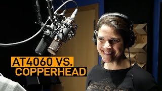 Audio-Technica 4060 vs. Telefunken Copperhead | VO Mic Comparison