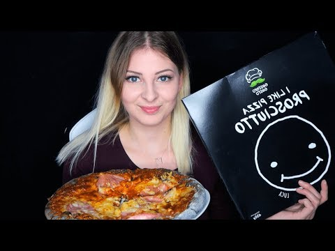 [ASMR] ♡ LUCA PIZZA 2 TASTE TEST (EATING SOUNDS) | MUKBANG WITH BLACK PIZZA