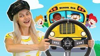 Wheels On The Bus Songs - Nursery Rhymes Kids