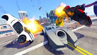 THE FUNNIEST CAR IN THE GAME!  *BATMOBILE TROLLING!* | GTA 5 THUG LIFE #230
