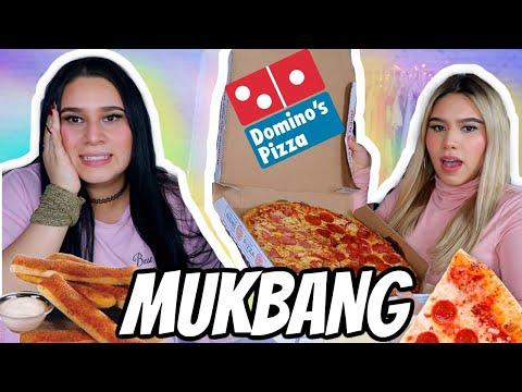 DOMINOS Pizza MUKBANG 🍕