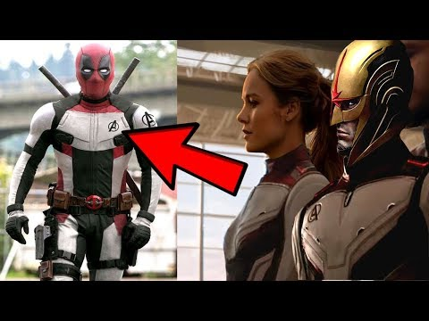 AVENGERS ENDGAME 4TH TRAILER! NOVA & DEADPOOL REVEALED WITH EVIDENCE FROM LEAKS!?