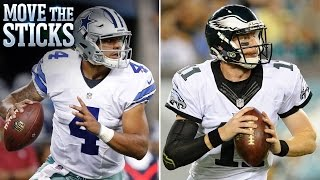 What to Expect From Wentz & Prescott Week 1 | Move the Sticks | NFL