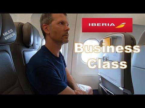 Iberia Airlines European Business Class