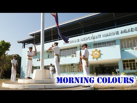 Morning Colours | Cadets of Philippine Merchant Marine Academy