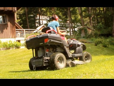 Commercial Mowing With Raven Mpv 7100 Tireject Review