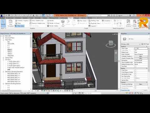 Bài 16: Thiết Lập Vật liệu 3D & Render online
