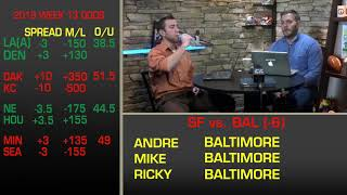 The Spread: Week 13 NFL Picks, Odds, Betting Analysis, Predictions