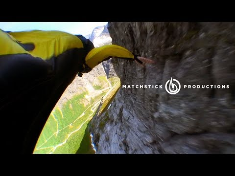 Awesome wingsuit segment from 'Seven Sunny Days' Updated