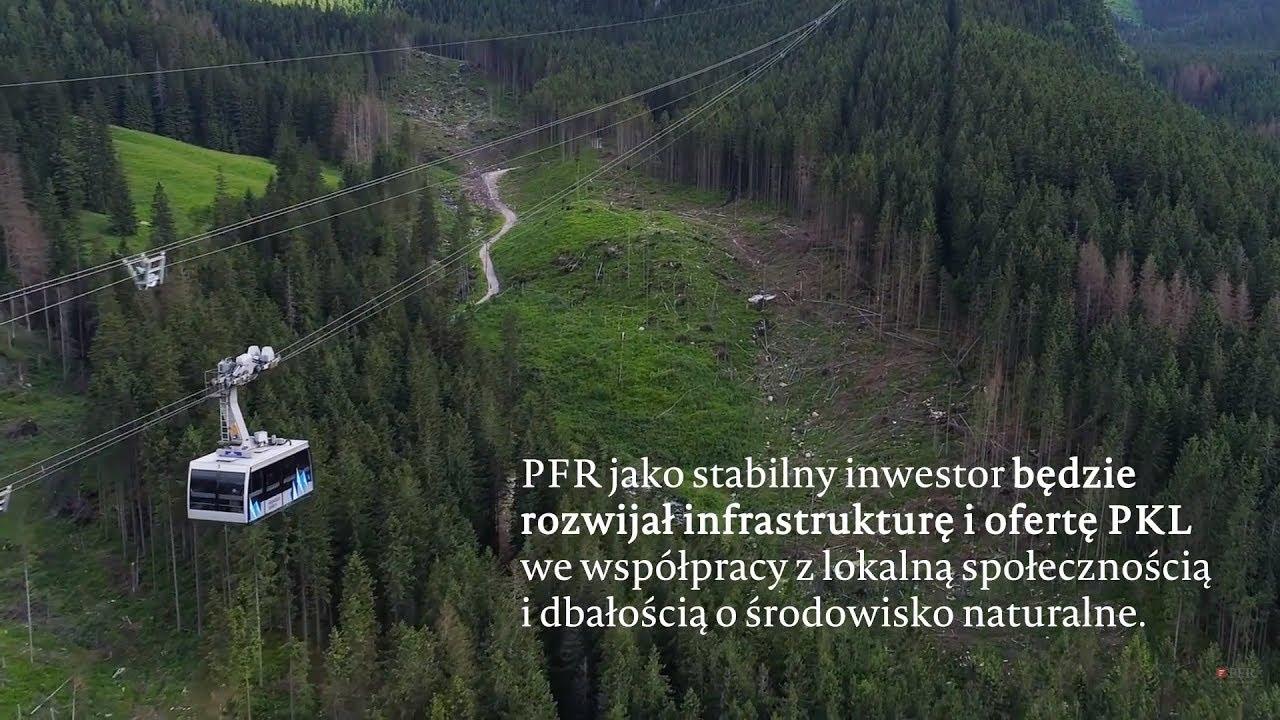 PFR nowym właścicielem Polskich Kolei Linowych (PKL)
