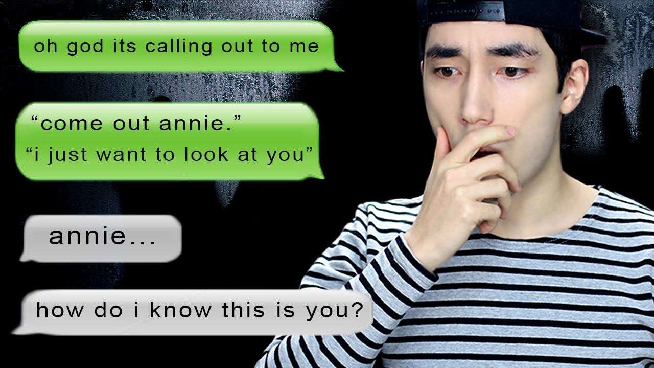 CREEPIEST CHAT HISTORY EVER | annie96 is typing