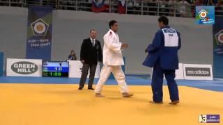 Judo 2014 European Championships Cadets: Gvelesiani (GEO) - Kotsoev (UKR) [-90kg] final