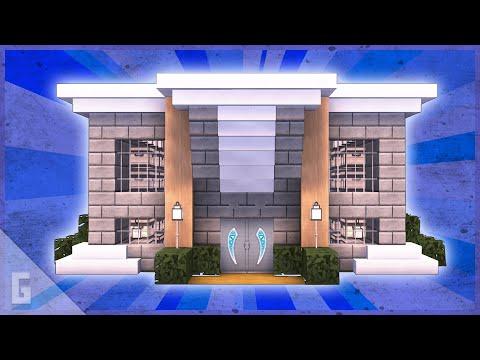Minecraft Bank Storage House Tutorial